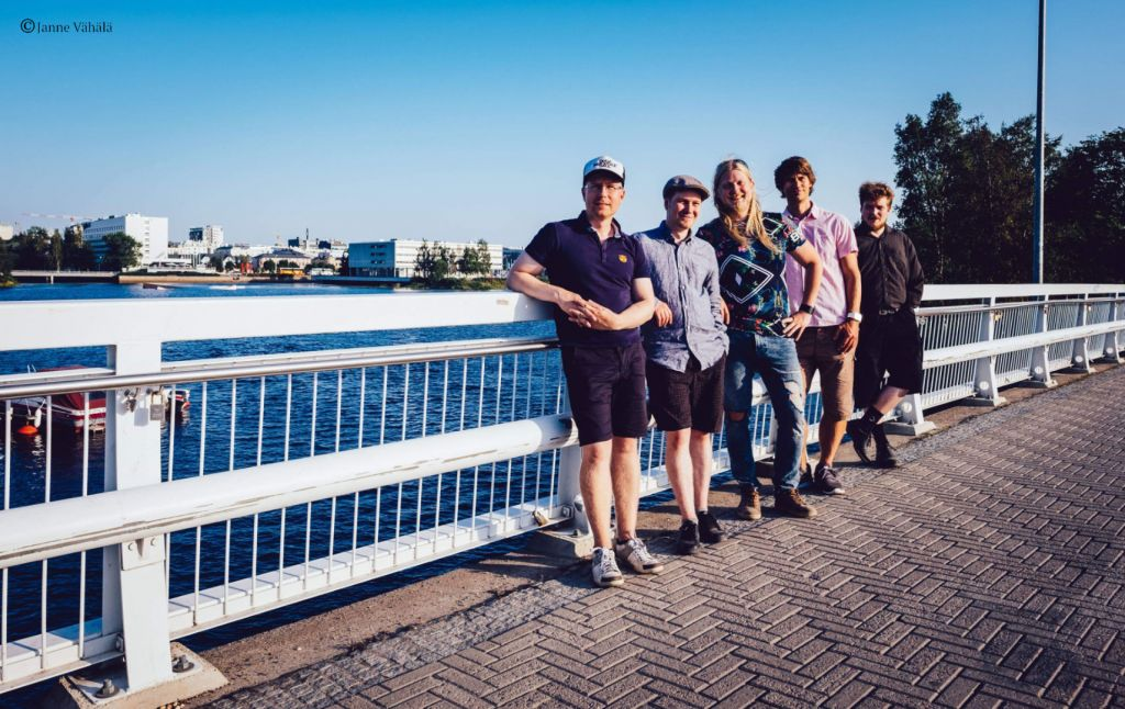 The Nordic View Band in Oulu, Promo Shot